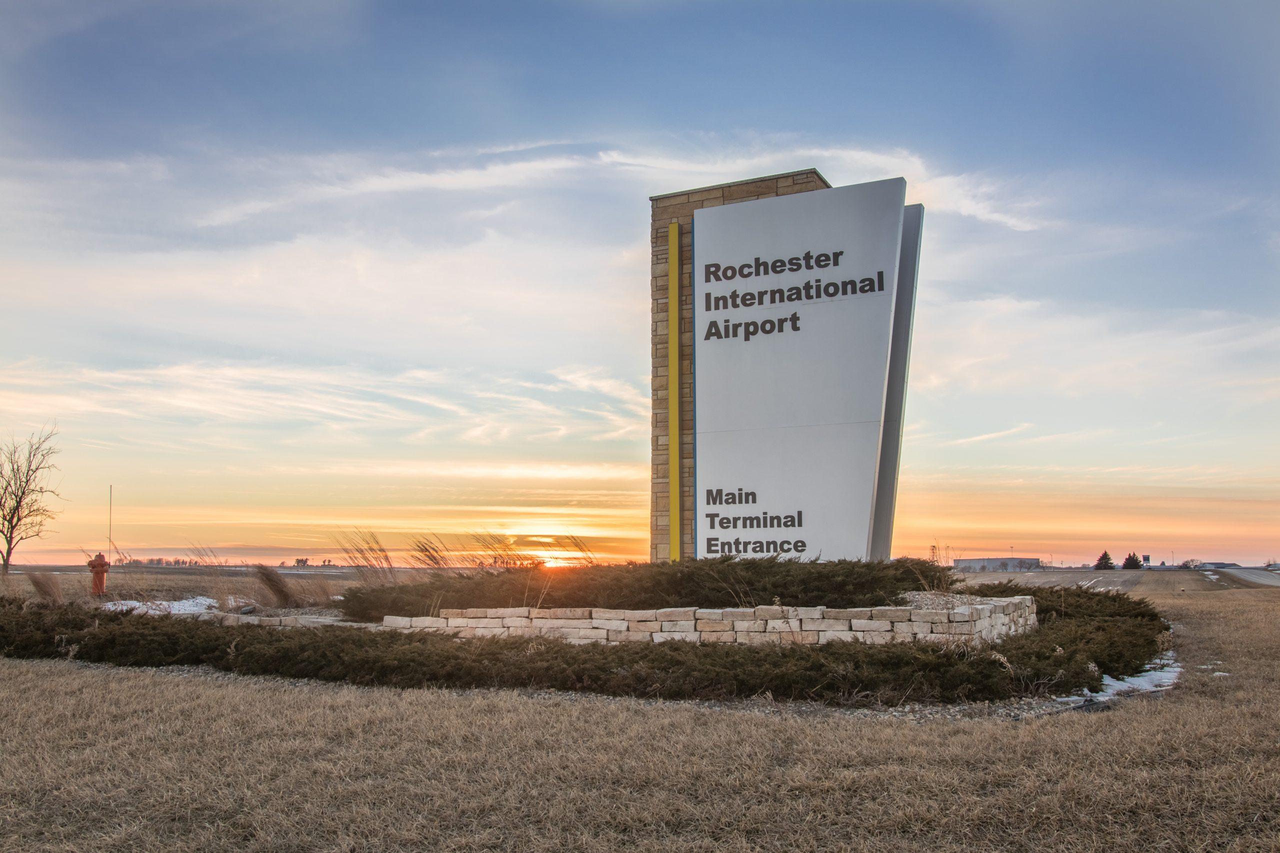 Rochester International Airport Rst Rochester Minnesota Mn