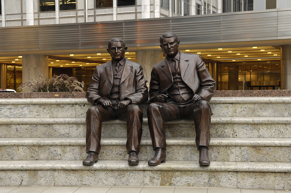 Mayo Clinic Statues