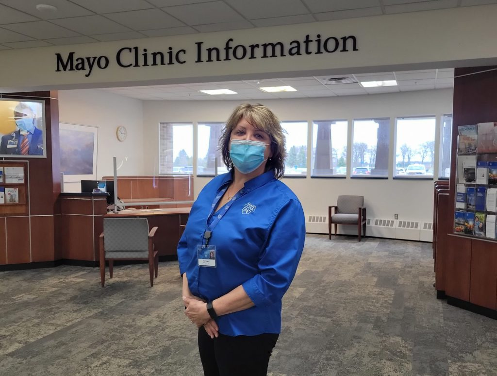 Mayo Clinic employee at RST