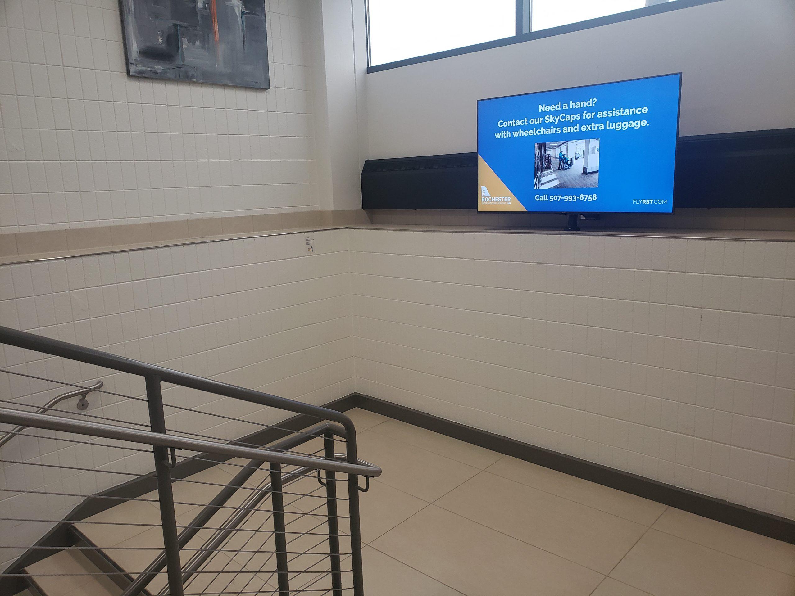 Gate 1 Stairwell