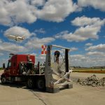 aircraft runway reconstruction