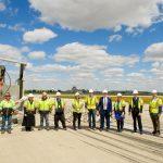 Airport Staff at Groundbreaking