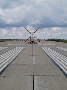 Closed runway at RST