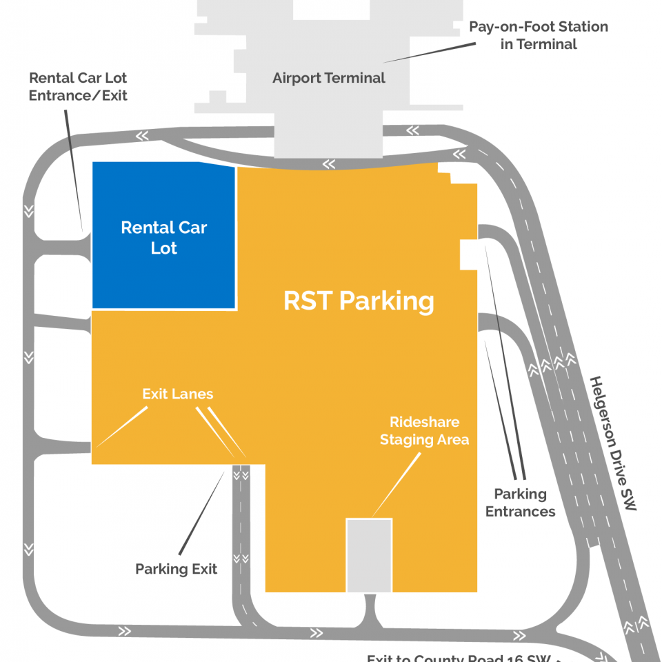 RST Parking Map
