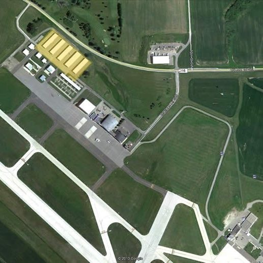 RST T-Hangars Aerial View
